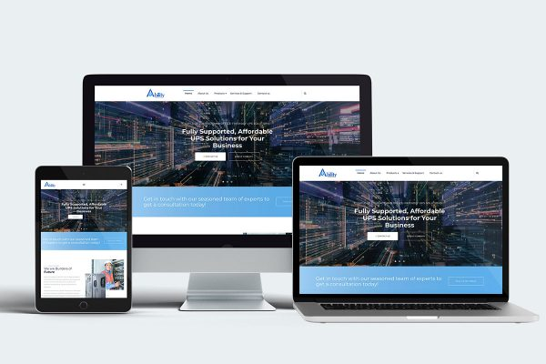Ability Info Systems - Website Design