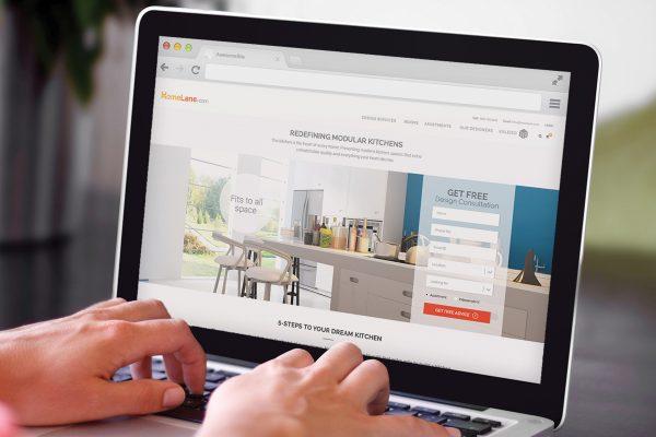 HomeLane.com UI Design