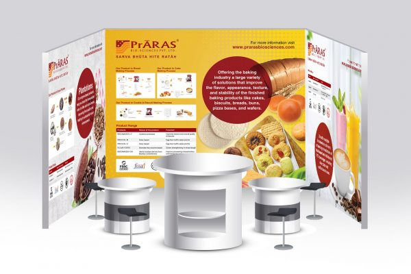 Exhibition Stall Design - Praras Bioscience