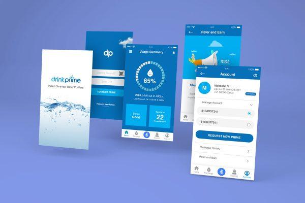 DrinkPrime App UI