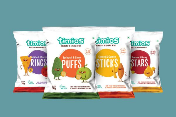 Timios Product Packaging