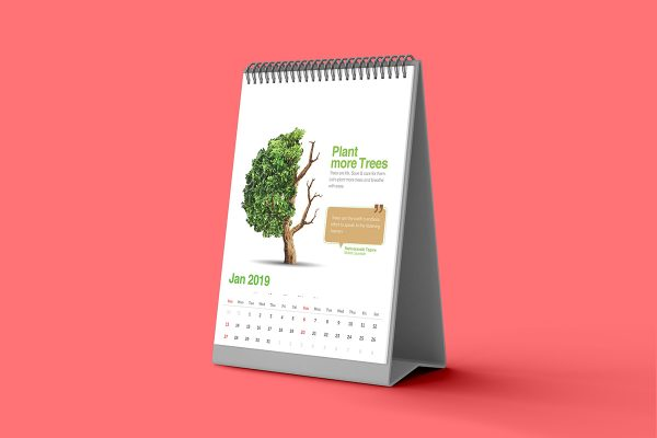 Table Calendar - Praras BioScience